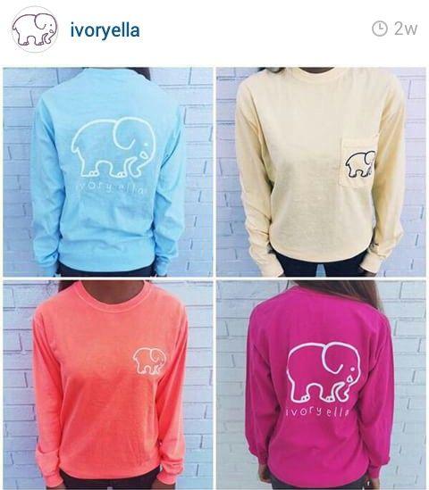 7620dfc5f8bbe Ivory ella elephant shirts ♥
