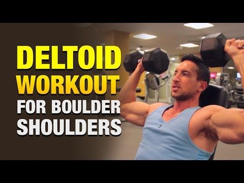 how to get massive shoulders at home