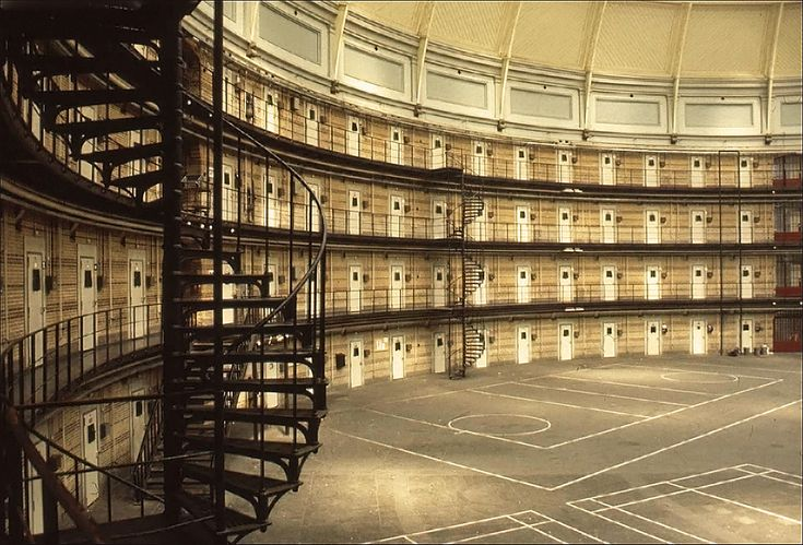 """panopticism by michel foucault and schools as prisons Bartky utilizes michel foucault's theory of the panopticon to demonstrate how,   designed by jeremy bentham, the panopticon is a prison with """"a circular  and  punish to illustrate how modern structures such as schools and."""