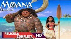 pelicula moana un mar de aventuras completa en español latino - YouTube