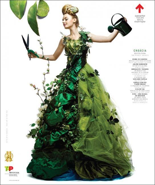 from Cover JunkieGreen Dress