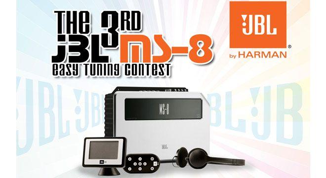 Regulasi Lengkap The 3rd JBL MS-8 Easy Tuning Contest