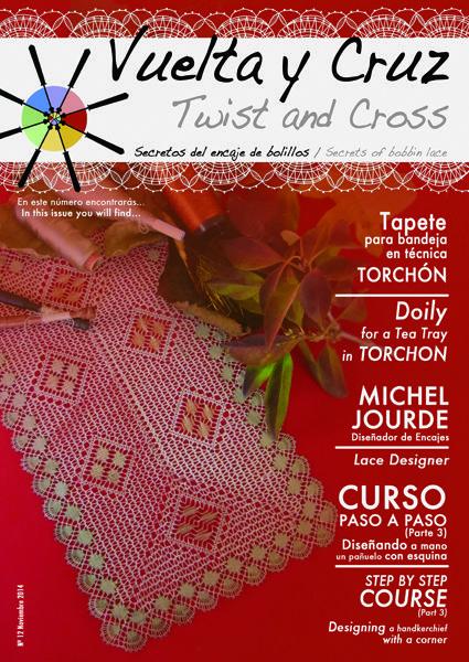 Vuelta y Cruz Nº12: Revista de bolillos / Twist and Cross N.12: Bobbin lace magazine (11€)