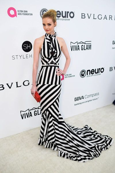Lydia Hearst attends the 25th Annual Elton John AIDS Foundation's Academy Awards Viewing Party at The City of West Hollywood Park on February 26, 2017 in West Hollywood, California.