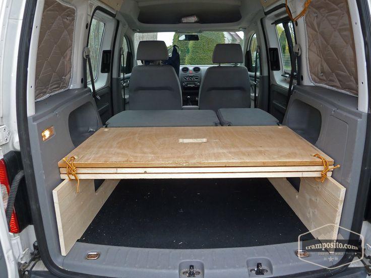 VW-Caddy Camper Ausbau – www.tramposito.com