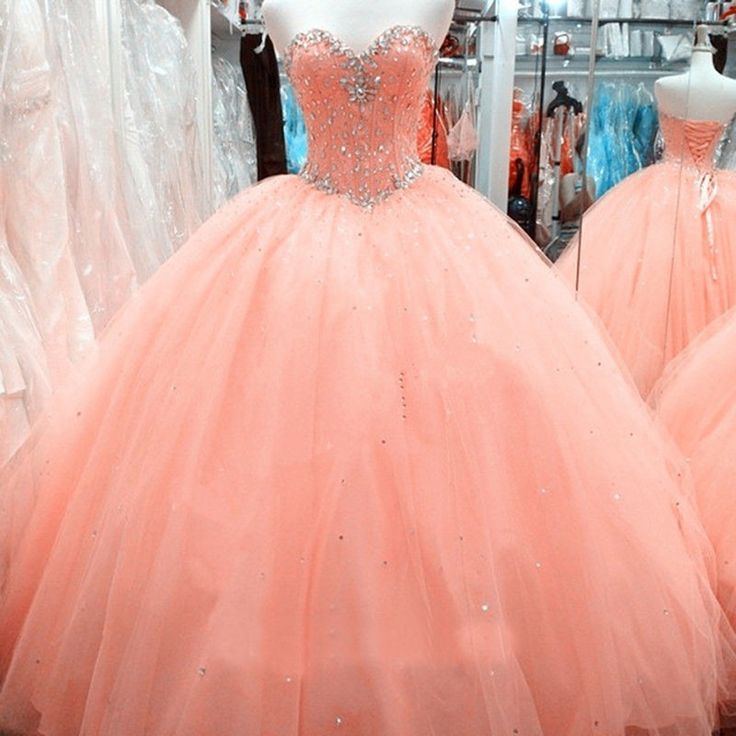 Find More Quinceanera Dresses Information about Puffy Sweetheart Crystal Beaded Long Quinceanera Dresses Party Gown Lace Up Back Tulle Cheap Quinceanera Gowns FH70,High Quality dresses pattern,China gown fabric Suppliers, Cheap gown meaning from ZYLLGF Offical Store on Aliexpress.com