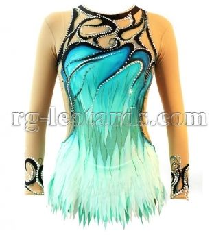 Rhythmic Gymnastics Leotard, Frozen Heart, pic 1