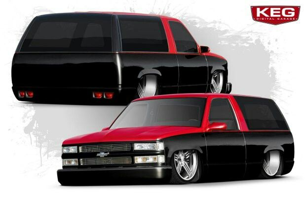 Two tone black and red