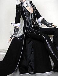 vampiro visconte BJD punk nero vestito lolita