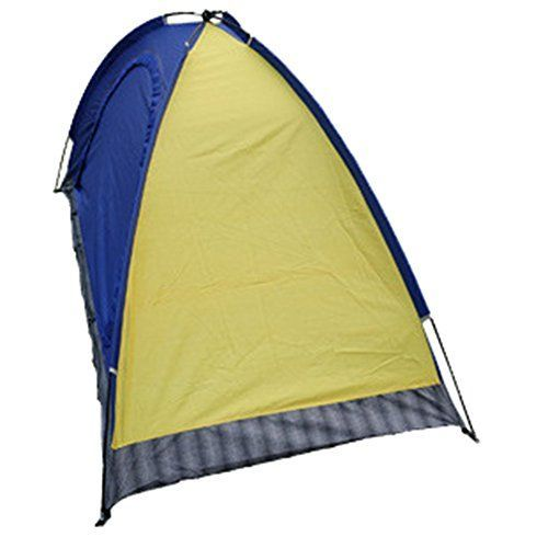 Generic Large Indoor 2 Person Tent Yellow * Click image to review more details.