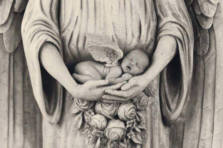 Dedicata ai bambini mai nati, piccoli angeli