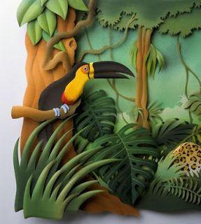 Carlos Meira | Miuíka: Arte em papel... pelo artista brasileiro Carlos Meira.