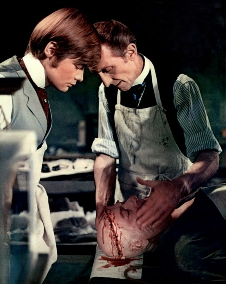 Frankenstein Must Be Destroyed (1969) Simon Ward and Peter Cushing