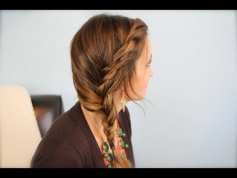 Subtle Twist Side Braid | Cute Girls Hairstyles - YouTube