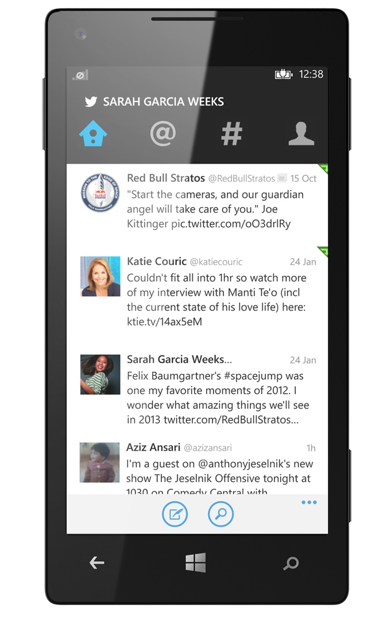 Twitter replaces the moments tab with explore the verge -  Twitter Lancia La Nuova Versione Per Windows Phone