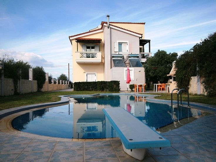 Ifigenia (inspired by the name of owner's daughter) Villa is located in a green olive land in Kampani, Chania. Ifigeneia Villa is two-storey house of 170 m2 within a land of 1000 m2. The villa can accommodate up to ...