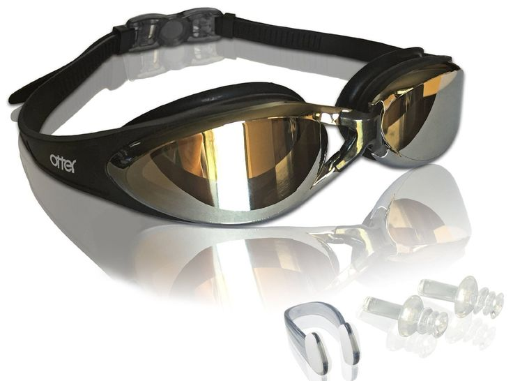 Adult swim goggles with free pair of earplugs