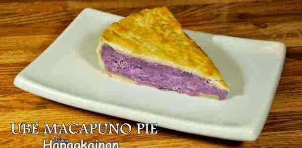 Paleo Ube-Macapuno Cake