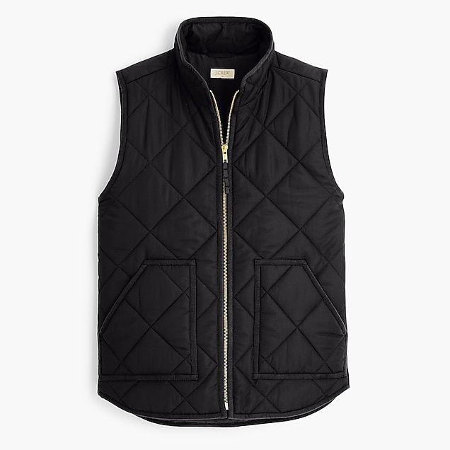 cb529d28b j.crew mercantile quilted puffer vest with eco-friendly primaloft ...