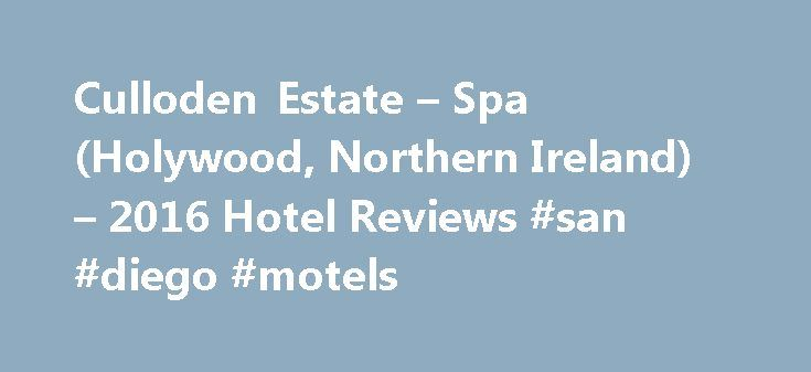 Culloden Estate – Spa (Holywood, Northern Ireland) – 2016 Hotel Reviews #san #diego #motels http://hotel.remmont.com/culloden-estate-spa-holywood-northern-ireland-2016-hotel-reviews-san-diego-motels/  #culloden hotel # Culloden Estate Spa Hotel, Holywood, Northern Ireland Bar / Lounge Business Center with Internet Access Fitness Center with Gym / Workout Room Free Parking Restaurant Room Service Suites Swimming Pool Wheelchair access Official Description (provided by the hotel) Standing high…