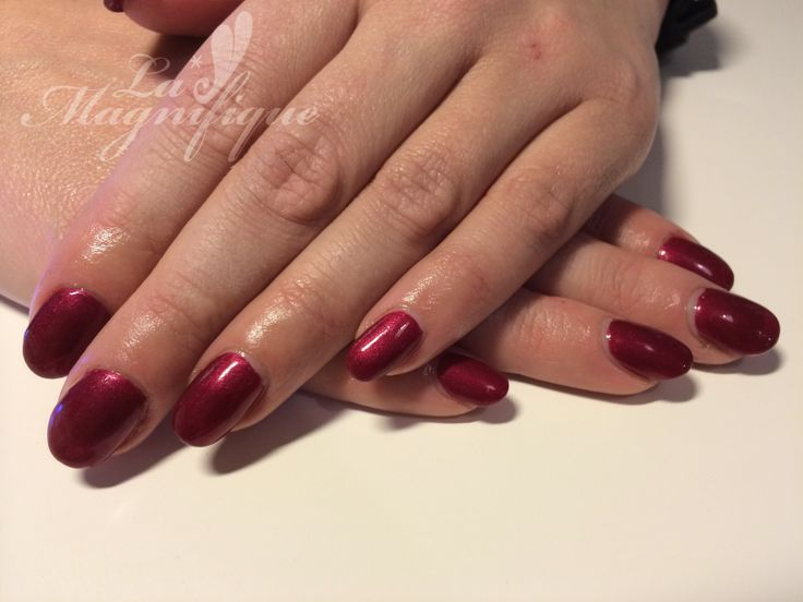 #shellac Red Baroness #CND | Shellac | Pinterest