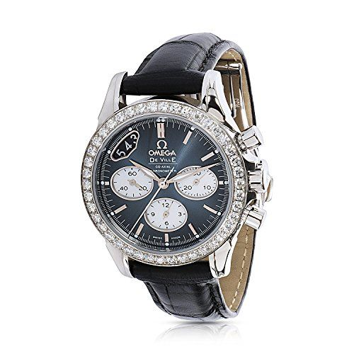 Omega DeVille Chronograph 422.18.35.50.06001 Women's Watch in Stainless Stee...