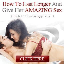Lasting longer in bed is every men's dream. There is no doubt than all men wish to give their partners as much pleasure as they possibly can.   A healthy sexual life means a happy life! You don't have to suffer in silence anymore, you can be a sex god the most wanted man immaterial how bad looking or good looking you are.