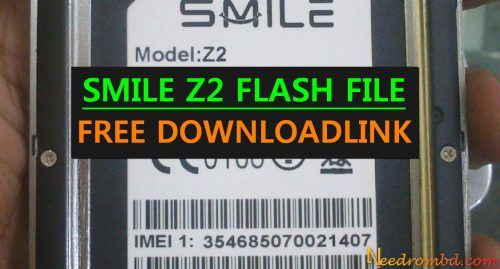 SMILE Z2 MT6580 Flash File Without password | Smartphone