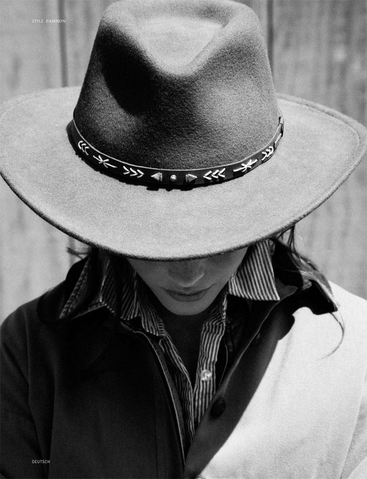 Love this pic, cowgirl with winter fur hat.  Available at 234 Mulberry Street, Space Cowboy Boots, NYC