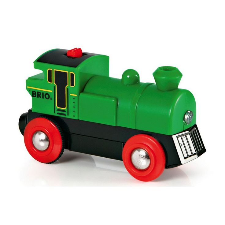 BRIO - Wooden Two Way Battery Powered Engine