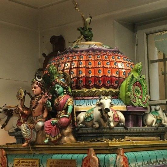 Voyage immobile 1 : l'Inde à Paris - croquis - Béatrice Carette