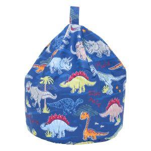Dino Blue Bean Bag