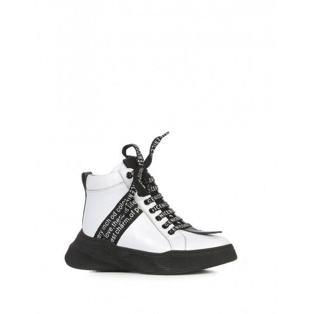 Rita Bayan Bot Beyaz Deri Beyazderi Kiyafet Ve Aksesuarlar Ayakkabilar Lidyana Ayakkabi Ilvi In 2020 Sneakers Shoes Golden Goose Sneaker