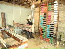 History of hand woven fabric                                      @ Wax Museum, Kizilcaboluk, Denizli