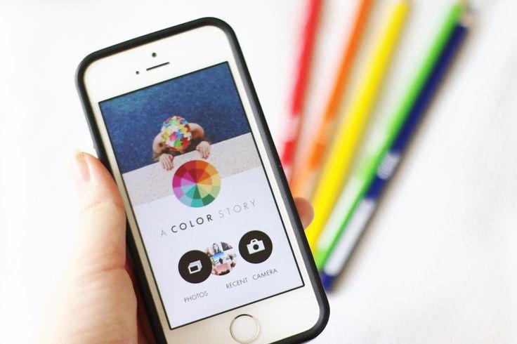 Aplicativo para editar fotos: A Color Story - Tatyanna Gois