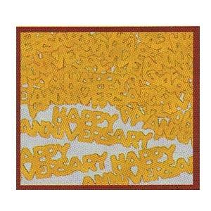 Happy Anniversary (Gold) Confetti