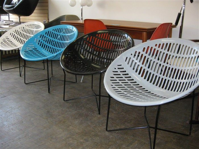 Marvelous SOLAIR CHAIR Or MOTEL CHAIR Retro Vintage Round Plastic Patio Chairs   You  Will See It