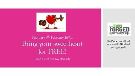 Check our our Sweetheart Special!!!