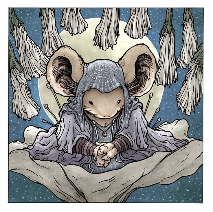 Mouse Guard — Limited Edition Moonflower Print