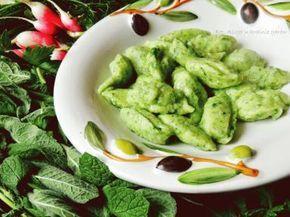 Zdjęcie: Kluski jaglano-ziołowe, boskie, a na dodatek bezglutenowe