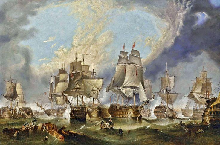 Batalla de Trafalgar. Santa Ana