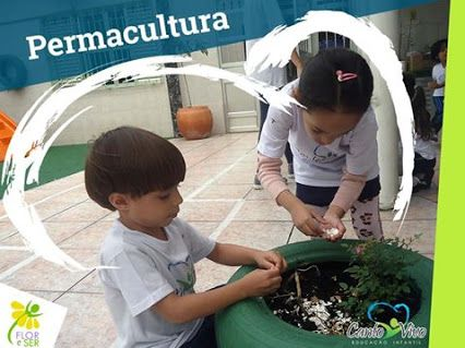 Como atividade extracurricular, a Escola Canto Vivo desenvolve junto aos alunos a atividade da PERMACULTURA com o apoio da Flor e Ser - Educação em Permacultura desenvolvendo o respeito ao meio ambiente através de vivências práticas.
