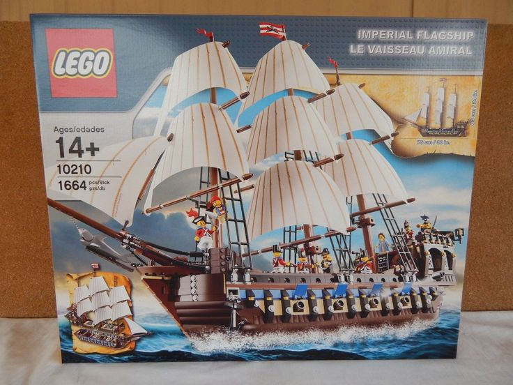 Lego 10210 âImperial Flagshipâ Pirate - New Factory Sealed 1664 pcs from 2010
