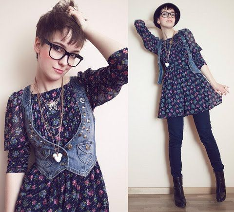 hipster mujer , Buscar con Google