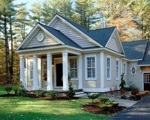 Urban farmgirl exterior color decisions charcoal roof for Cottage siding ideas