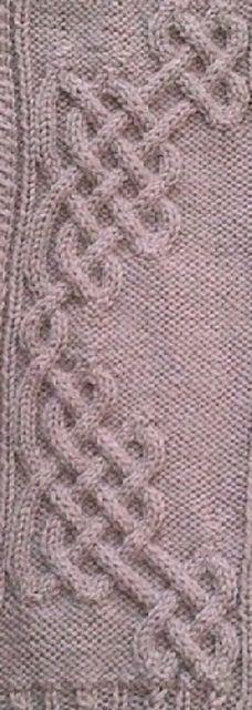 Ravelry: Celtic Motif (knot #239) by Devorgilla's Knitting (sometimes...)