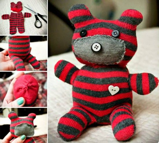 Sock Teddy Bear