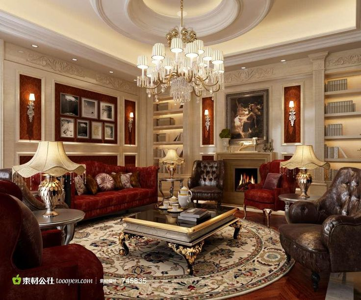 Luxury Living Rooms Room Model By
