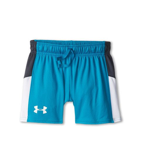 """cool Under Armour Kids UA Intensity 3"""" Knit Short (Big Kids) Teal Ice/Lead/White"""