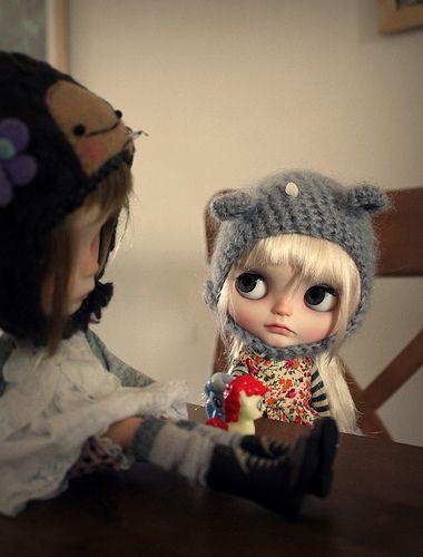 Vainilladolly custom Blythe doll RBL Teddy
